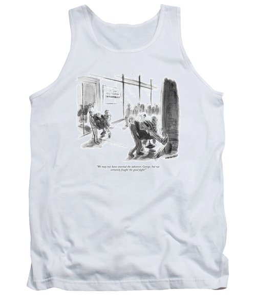 We May Not Have Averted The Takeover Tank Top