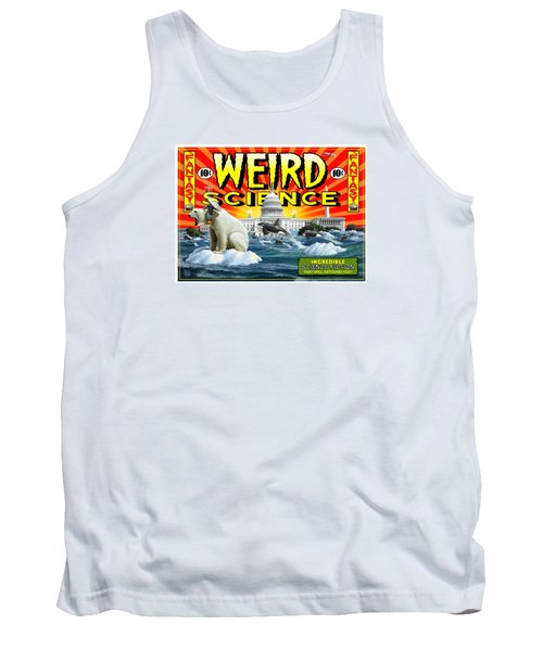 Tank Top featuring the digital art Weird Science by Scott Ross