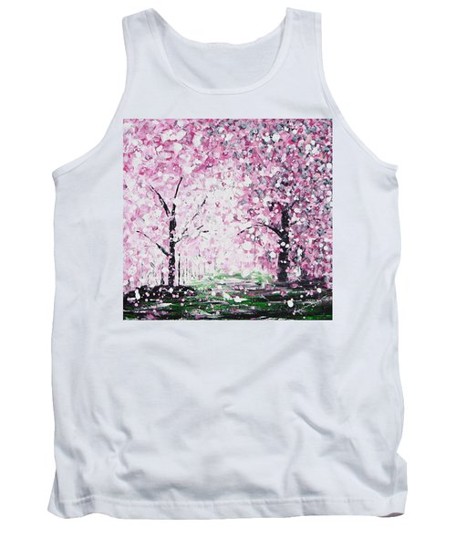 Welcome Spring Tank Top by Kume Bryant