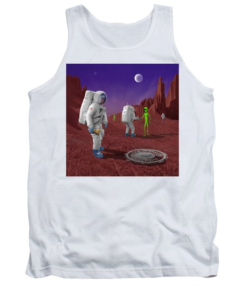 Welcome To The Future Tank Top