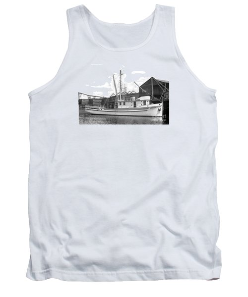 Western Flyer Purse Seiner Tacoma Washington State March 1937 Tank Top by California Views Mr Pat Hathaway Archives