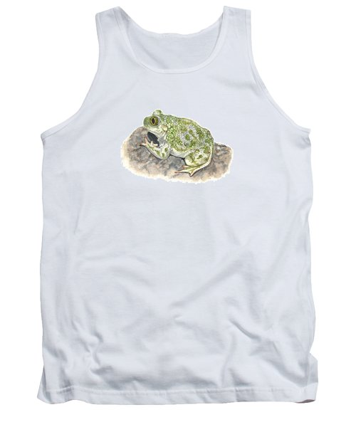 Western Spadefoot Tank Top by Cindy Hitchcock