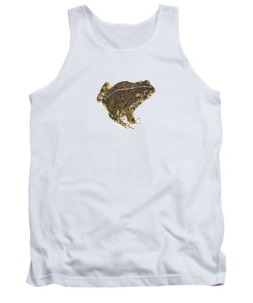 Western Toad Tank Top by Cindy Hitchcock
