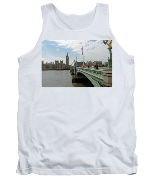 Westminster Bridge Tank Top by Tony Murtagh