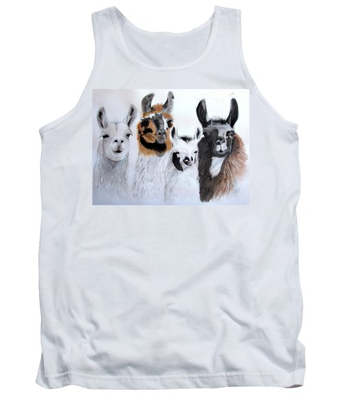 What Is Up Tank Top by Joette Snyder