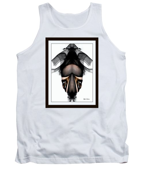 Tank Top featuring the painting What You See Is What You Get? by Rafael Salazar
