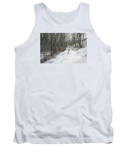 Where The Road May Take You Tank Top by Photographic Arts And Design Studio
