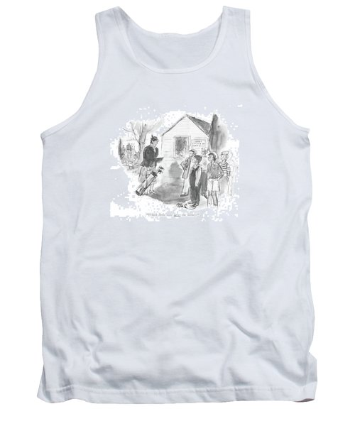 Which Little Man Saves His Money? Tank Top