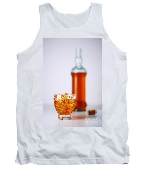 Whiskey Glass Tank Top
