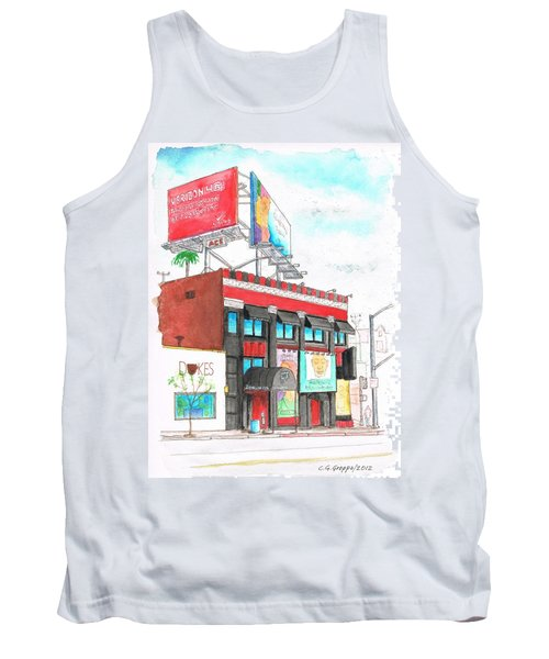 Whisky-a-go-go In West Hollywood - California Tank Top