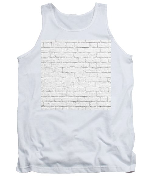 White Brick Wall Tank Top