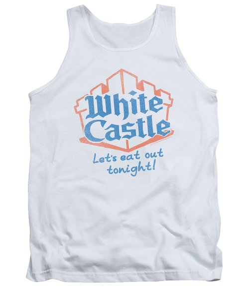 White Castle - Lets Eat Tank Top
