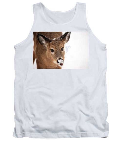 White On The Nose Tank Top