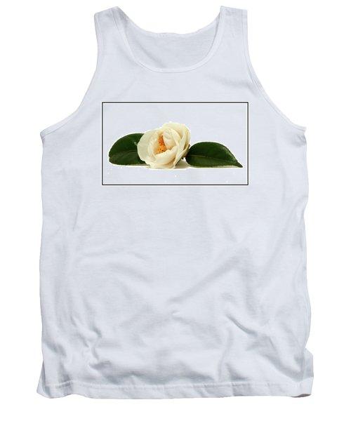 White On White Tank Top