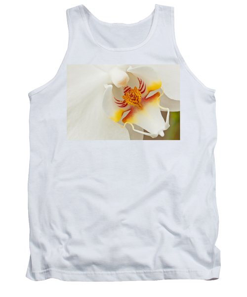 White Orchid 2 Tank Top