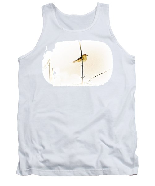 White Out Conditions Tank Top by Barbara S Nickerson