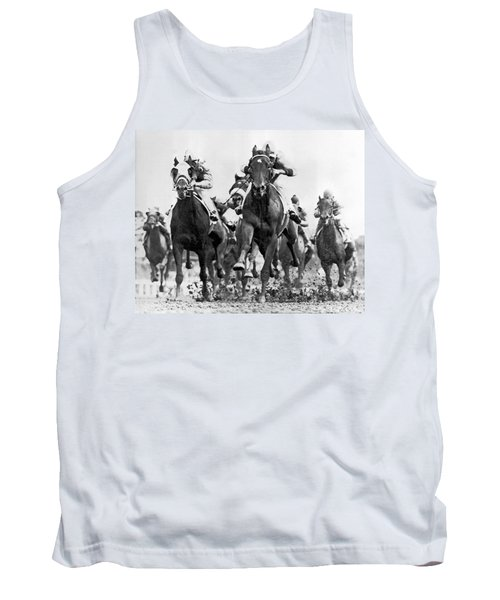 White River With Jockey Tommy Barrow Tank Top