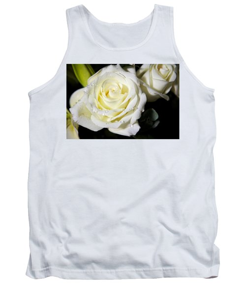 White Rose Tank Top