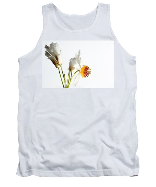 White Sparmannia Africana Plant. Tank Top