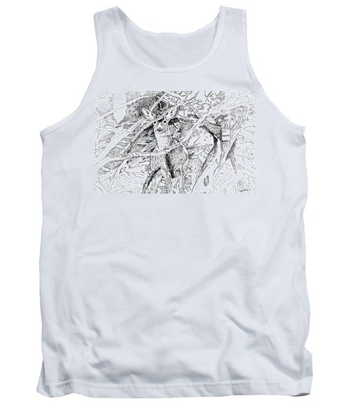 White-tail Encounter Tank Top by Bern Miller
