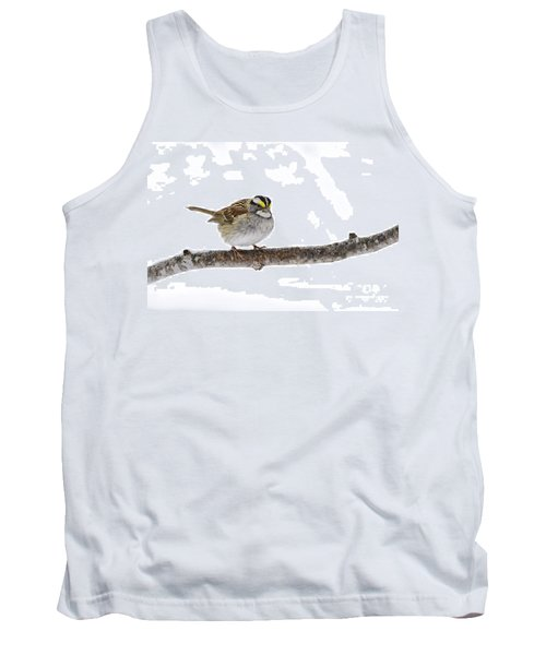 White-throated Sparrow Tank Top