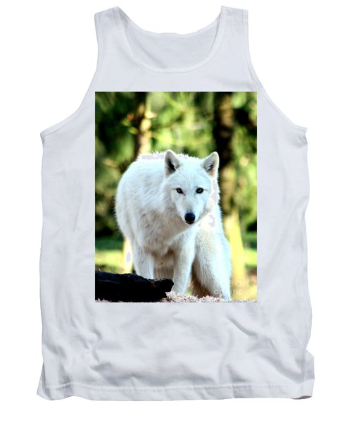 White Wolf Tank Top