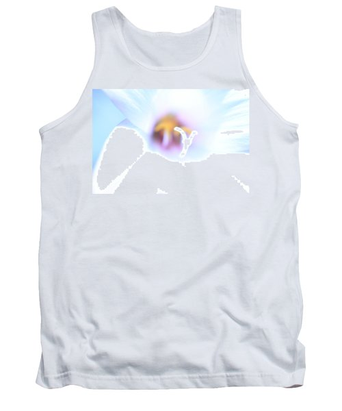 Tank Top featuring the photograph Whiteout by Greg Allore