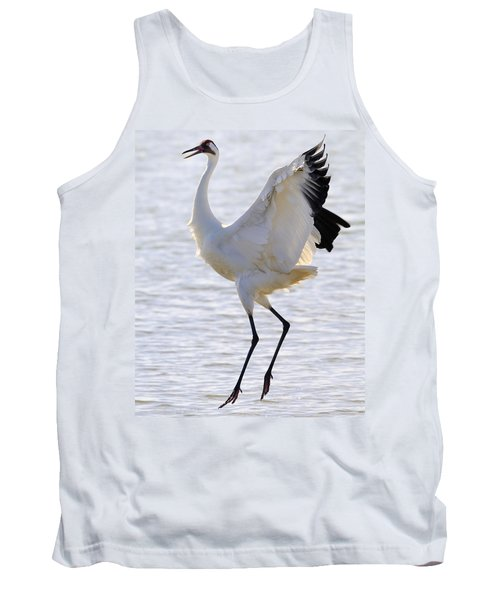 Whooping Crane - Whooping It Up Tank Top