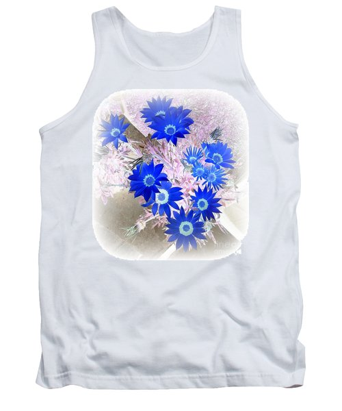 Tank Top featuring the photograph Wild Blue by Kenneth Clarke