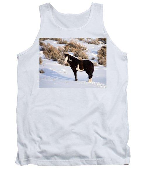 Wild Horse Stallion Tank Top by Nadja Rider