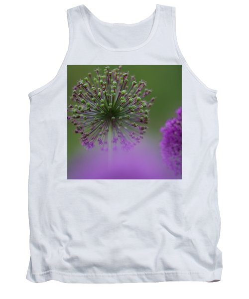 Tank Top featuring the photograph Wild Onion by Heiko Koehrer-Wagner