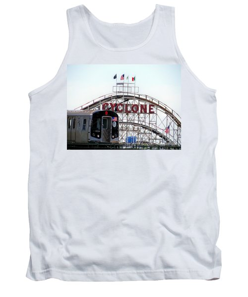 Tank Top featuring the photograph Wild Rides by Ed Weidman