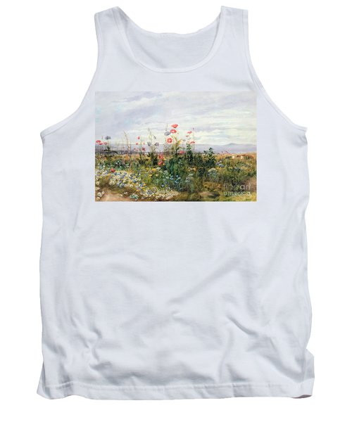 Wildflowers With A View Of Dublin Dunleary Tank Top