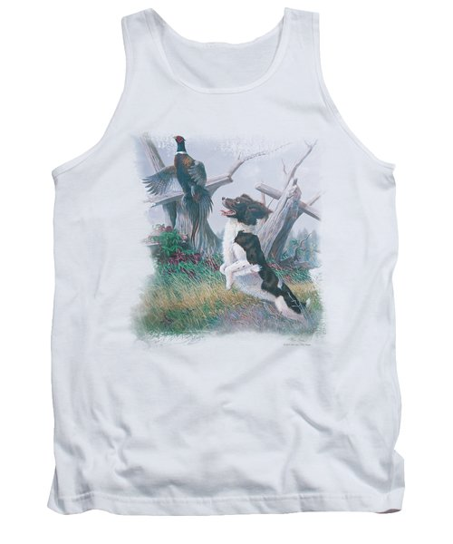 Wildlife - Springer With Pheasant Tank Top