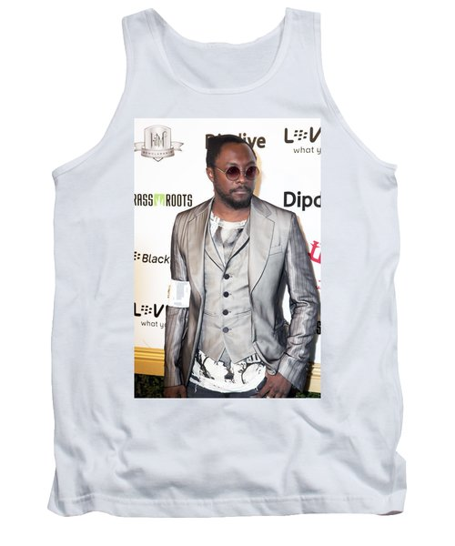 Will.i.am Tank Top by Hugh Smith