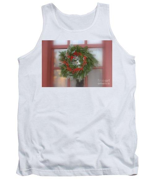 Williamsburg Wreath Tank Top
