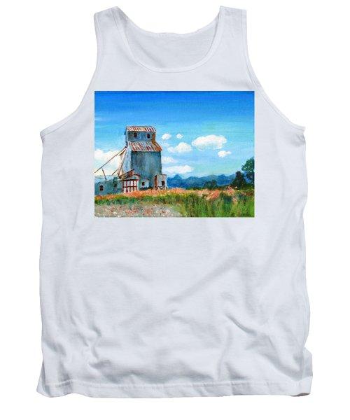 Willow Creek Grain Elevator II Tank Top by C Sitton