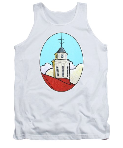Wilson Hall Cupola - Jmu Tank Top