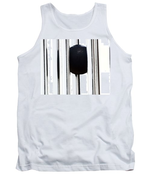 Wind Chime In Black And White Tank Top