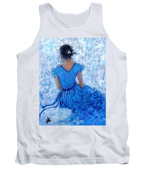 Tank Top featuring the painting Wind Of Hope.. by Cristina Mihailescu