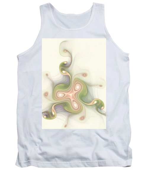 Tank Top featuring the digital art Winding by Svetlana Nikolova