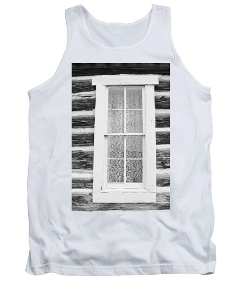 Tank Top featuring the photograph Window To The Old West by Diane Alexander