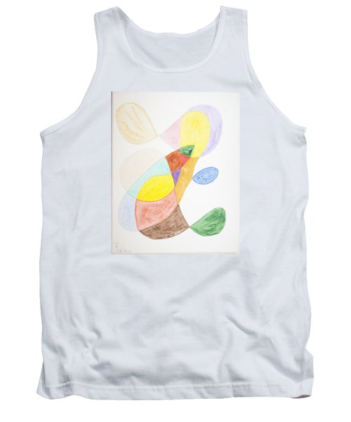 Tank Top featuring the painting Windy  by Stormm Bradshaw