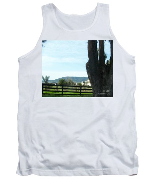 Tank Top featuring the photograph Winery by Bobbee Rickard