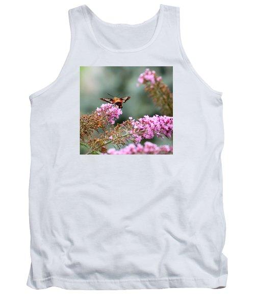 Wings In The Flowers Tank Top by Kerri Farley