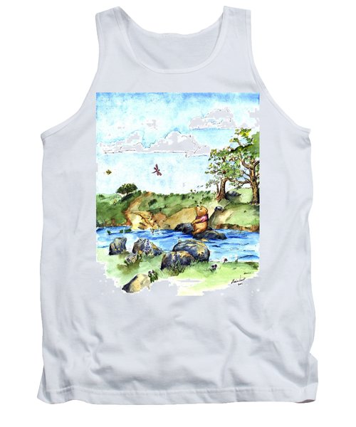 Imagining The Hunny  After E  H Shepard Tank Top