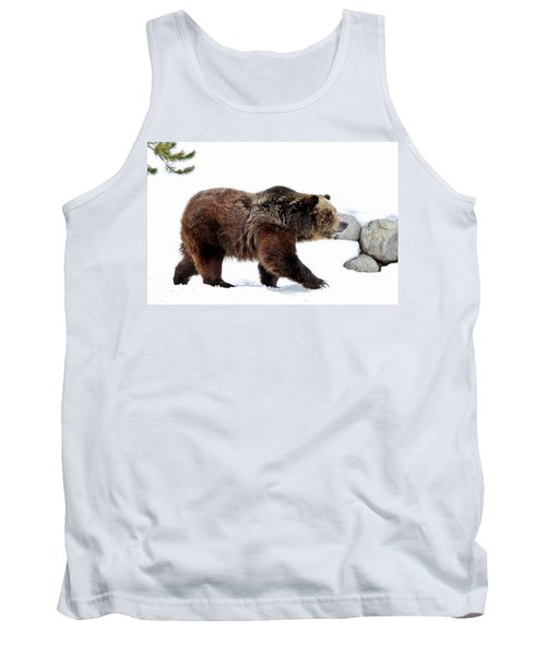 Winter Bear Walk Tank Top
