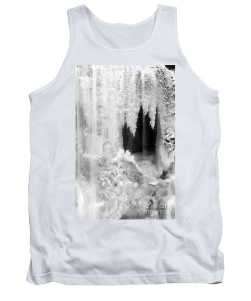 Winter Cave Tank Top by Jeannette Hunt