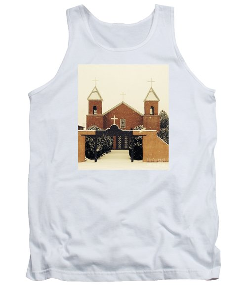 Winter Church Tank Top