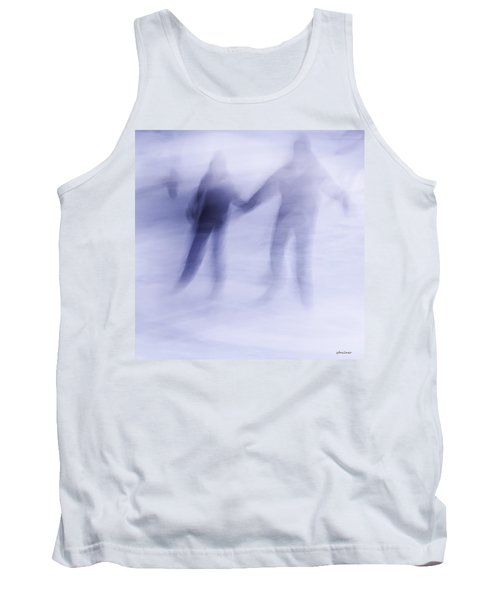 Tank Top featuring the photograph Winter Illusions On Ice - Series 1 by Steven Milner